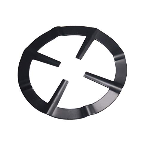 Estante de metal para cafetera, estufa de soporte reductor para olla a fuego lento anillo de cocina y café herramienta