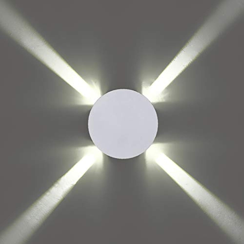 Qzny Wandleuchte, Wandleuchte Einfach und stilvoll Aluminiumwand Sconce Moderne Creative LED Living Room Wall Light Bedroom Bedroom Lampenlampe,a,13.5  4.3  13.5cm