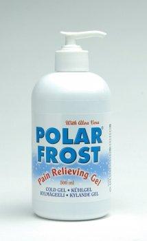 Polarfrost, Premium Kühlgel mit Aloe Vera, Pumpflasche 500 ml