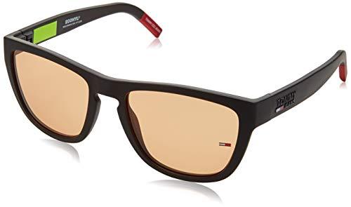 Tommy Hilfiger Unisex-Erwachsene TJ 0002/S Sonnenbrille, MTT SCHWARZ, 54