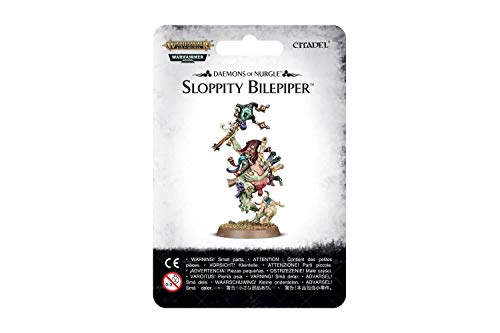 Games Workshop Daemons of Nurgle Sloppity Bilepiper Warhammer Age of Sigmar