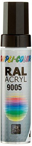 Dupli-Color 677236 Lackstifte, 12 ml, DS 9005 Tief Schwarz Matt