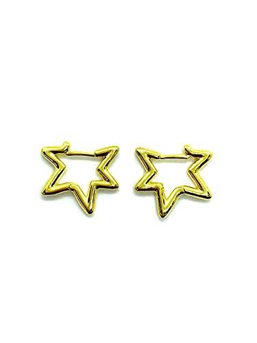 Pendientes Estrella Apm de plata 925%