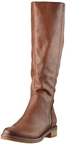MARCO TOZZI Damen 2-2-25619-33 Hohe Stiefel, Braun (Cognac Antic 310), 37 EU