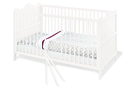 Pinolino 110023 Kinderbett 'Florentina', weiß
