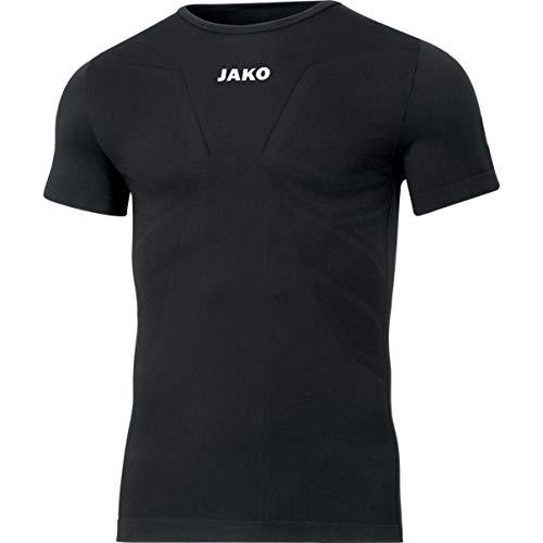 JAKO Herren Comfort 2.0 T-Shirt, schwarz, XL