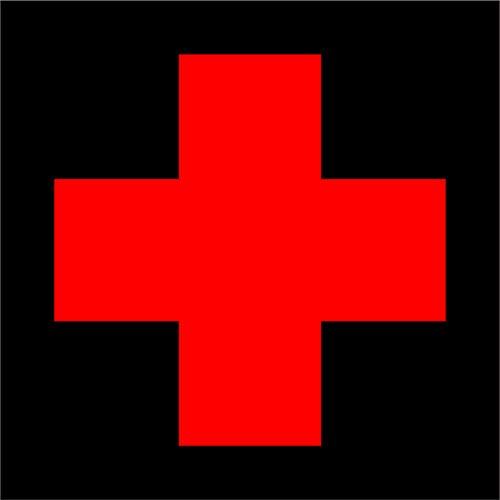 medical cross decal - 4