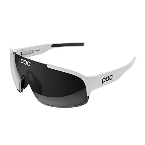 POC Crave Gafas, Unisex Adulto, Blanco (Hydrogen White), 13.3