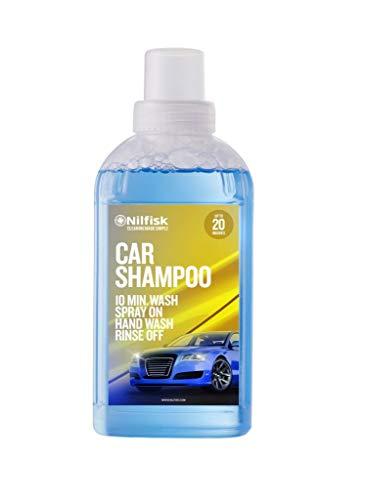 Nilfisk Car Shampoo Detergente líquido para Coche, para Uso con hidrolimpiadora (500 ml)