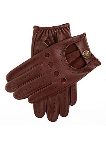 Dents Men?s Leather Driving Glove ? English Tan (5-1011), Marron - Braun (english Tan), Large