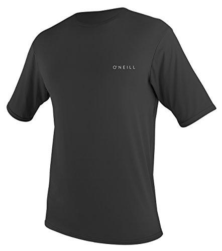 O Neill Men s Basic Skins Upf 30 + Short Sleeve Sun Shirt, Black, XX-Large