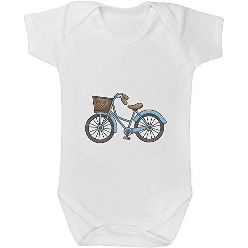Azeeda 6-12 Monate 'Niederländisches Fahrrad' Baby Body Unisex (GR00041849)