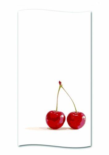 kela Duschvorhang Cherry Polyester 180 x 200 cm