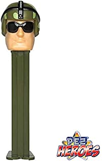 Pez Candy Dispenser Military Soldier: PEZ Heroes Series
