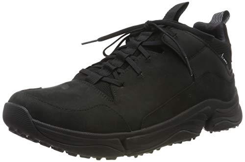 Clarks Herren Tri Path Mid Hohe Sneaker, Schwarz (Black Combi Black Combi), 45 EU