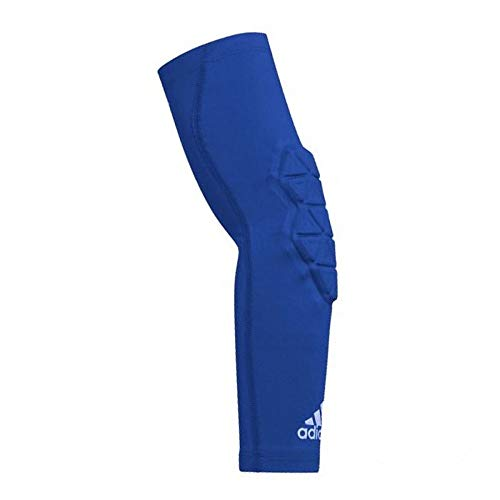 Adidas - Gomitiera da basket, da uomo, Padded Arm SLV, colore: Blu