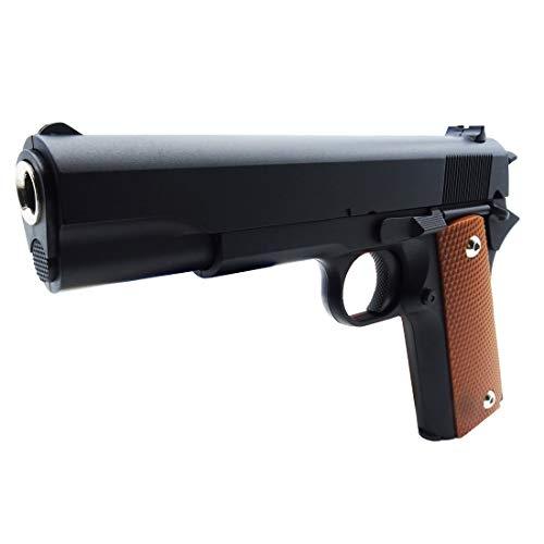 rayline Pistolet Airsoft Softair RG13 Full Metal (Pression de Ressort Manuelle), Échelle 1: 1, Poids 450g, Longueur 22cm, (Moins de 0.5 Joule - à partir de 14 Ans)