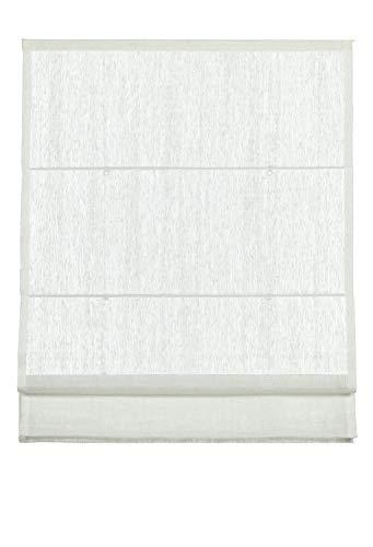Gardinia Klöckner Raffrollo inkl. Montage-Teile, Hasta Collection, Weiß, 100 x 160 cm 91-1165