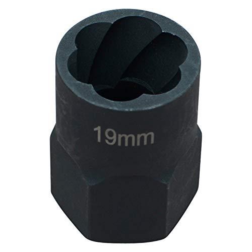 """Hesselink Schraubenausdreher Hesselink SN-19 I Spezial-Steckschlüssel-Einsatz/Schraubenausdreher I (1/2\"""") 19 mm"""