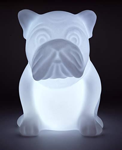 BigBen Sound BTLSDOG Wireless Bulldogge Lautsprecher (Bluetooth, MP3, USB) Mehrfarbig