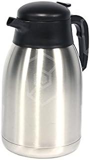 Bartscher Aurora 20 Thermoskan, 2 l, voor koffiezetapparaat, roestvrij staal, met 2 liter volume, voor Bartscher koffiezet...
