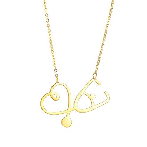 Niche Design Light Luxury Jewelry Love Letter Titanio Acero Señora Collar Clavícula Cadena Amor Corazón Colgante Joyería Regalo Día de San Valentín