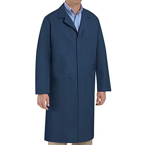 Red Kap Men's Shop Coat, Navy, 46