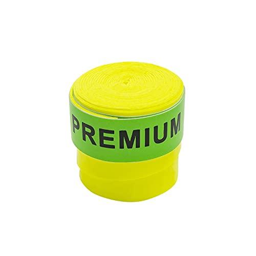 """Overgrips Pro Elite. Modelo Premium. Color Amarillo FLÚOR y el Acabado/Tacto Liso. El Que Utiliza Lucia SAINZ. Nº1 WPT (2020)"""""""