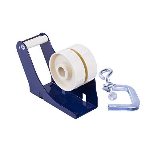 Klebebandabroller mit Tischzwinge für 50 mm Klebeband Tischabroller Pakbandabroller