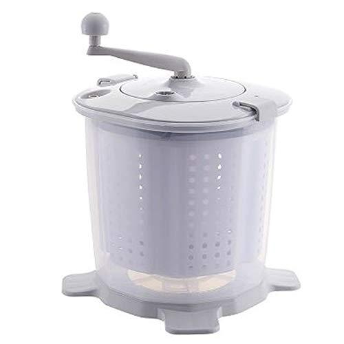 Moderne Hausfrau Handwaschmaschine, Waschautomat, Mini, Reisewaschmaschine, Camping, Wohnmobil, Wohnwagen, ohne Strom, Schleudern, Kunststoff, 38 cm x 34 cm