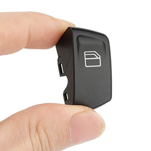 Aramox 2 fundas para interruptor de ventana de coche, tapas de botón de ventana para Mercedes Vito Viano W639 Sprinter II 906 2003-2013