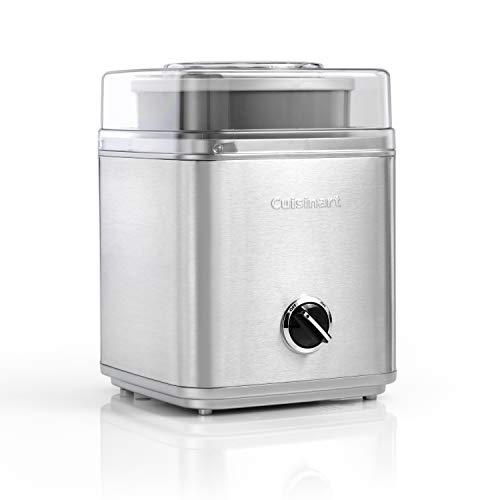 Cuisinart Eismaschine Ice Cream Deluxe, 2 L Fassungsvermögen, Edelstahl, ICE30BCE