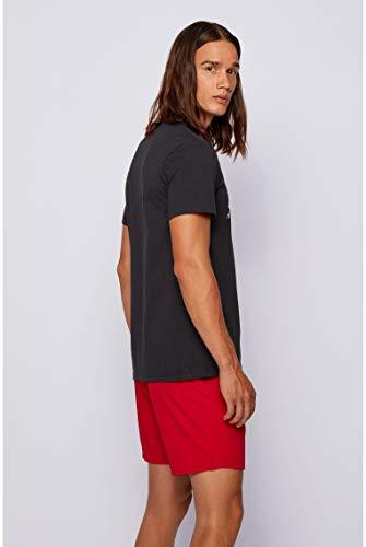 BOSS T-Shirt RN Camiseta, Negro (Black 007), Medium para Hombre