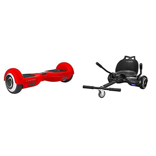 Smartgyro X2 Potente Patinete Eléctrico Hoverboard, Antipinchazos, Batería De Litio 4400 Mah...