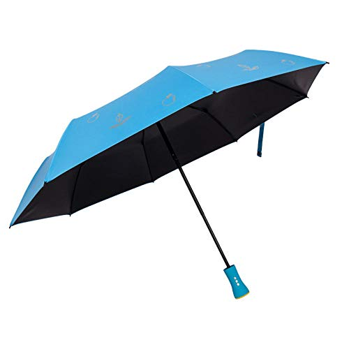 Powzz ornament Paraguas multifuncional con música Bluetooth creativo sin hilos con reproducción musical paraguas plegable paraguas paraguas 55 cm x 8 K