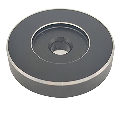 TGUS Adattatore da 45 giri/min, adattatore per giradischi in vinile, per giradischi in vinile, facile da installare, per giradischi in vinile (nero)