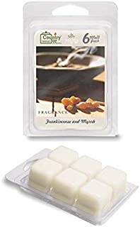 Country Jar Frankincense and Myrrh Scented Wax Melt Soy Tarts (6-Cube Pk) Sale! 20! Off 3 or More!