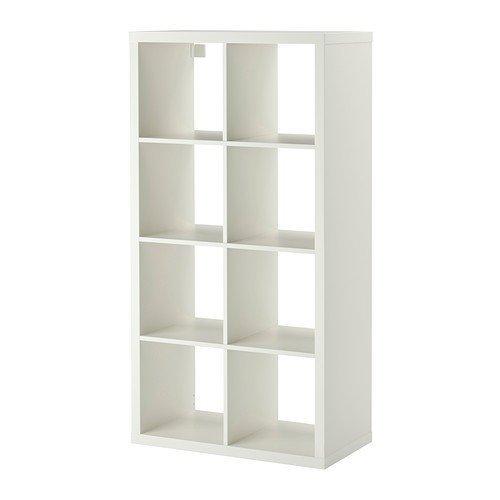 IKEA Kallax Regal, Weiß, 2 Stück