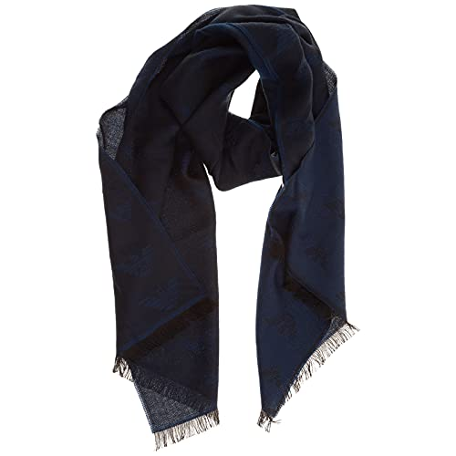 Emporio Armani herren Schal blu