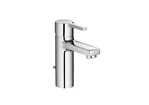 Roca Naia - grifo monomando para lavabo con desagüe automático, cold start . Griferías hidrosanitarias Monomando. Ref. A5A3096C00