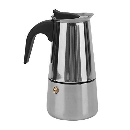 N / E Cafetera portátil de café de acero inoxidable percolador de café de la oficina en casa cafetera mocha olla duradera expreso espresso Maker accesorios para el hogar