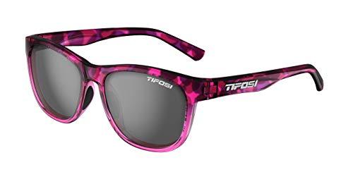 Tifosi Optics Swank Sunglasses (Pink Confetti/Smoke Lenses)