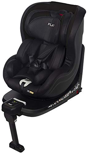 Play 360 iSize - Silla de coche Isize, color Negro