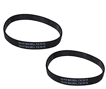 2 BISSELL ORIGINAL BELTS TO FIT 7 9 10 12,14,16 VACUUMS