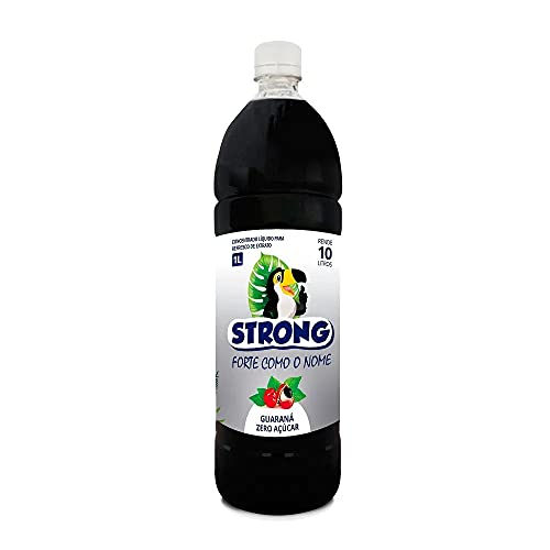 Xarope de Guaraná Original Strong Zero Açúcar 1 Litro.