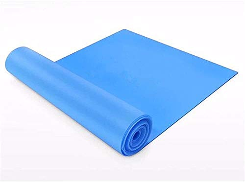 147258 Bande di resistenza yoga della fascia di gomma della fascia di stirata di esercitazione di Pilates del lattice naturale della fascia elastica del ciclo naturale lattice Bande allenamento, Pilat