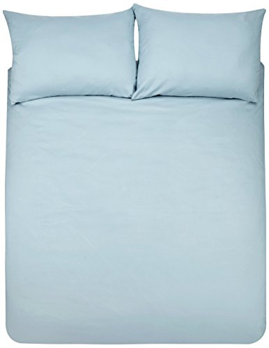 Amazon Basics Duvet Set, Azul claro, 230 x 220 cm + 2 fundas 50 x 80 cm