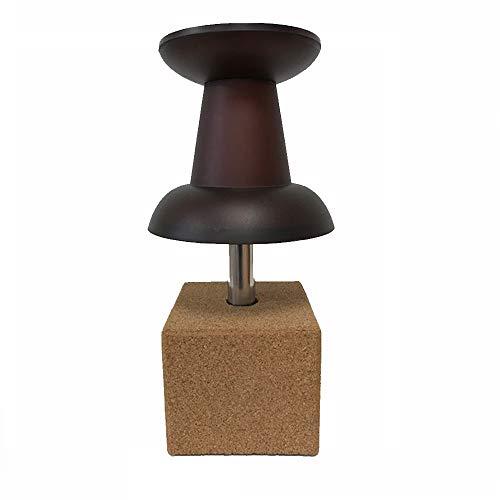 Design Tischleuchte Tischlampe PushPin Lampe Leuchte Nachttischleuchte Nachttischlampe Farbe burgund