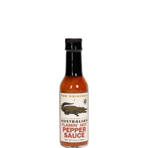 The Original Australian - Flamin' Hot Pepper Sauce - 148 ml