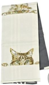 D.F.T.E home collection Küchen-Tuch Katze Abtrocken-Tuch